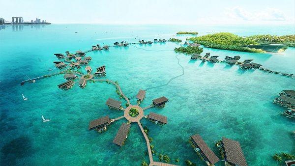 cảnh đẹp ở maldives