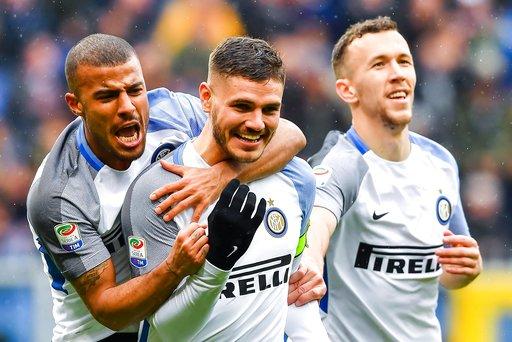 Icardi đã đột phá giúp Inter thắng Sampdoria
