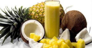 Cách làm sinh tố dứa chuối dừa