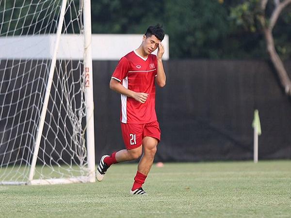 Đình Trọng tiếp tục lỡ hẹn với vòng loại U23 châu Á 2020