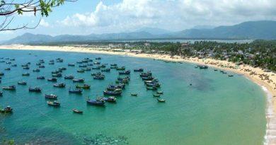 Vịnh biển Tuy Hòa đẹp hấp dẫn du khách