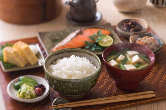 Chế độ ăn giảm cân của người Nhật