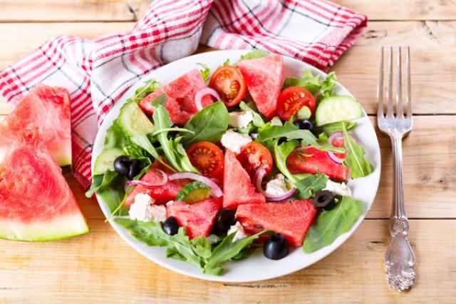 Salad dưa hấu để hỗ trợ giảm cân