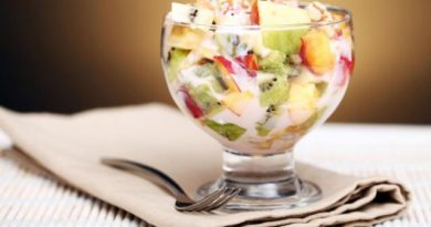 Salad trái cây để giảm cân