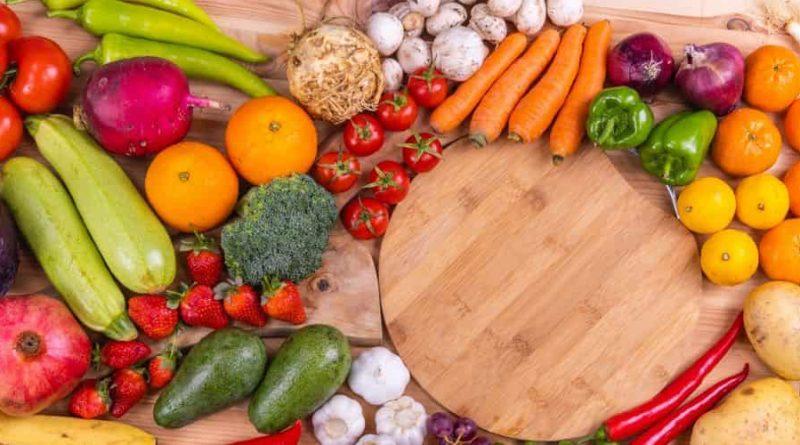 Trưng bày các loại trái cây và rau giúp giảm căng thẳng cho gia đình bạn